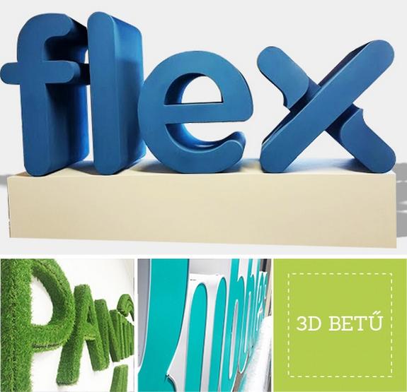 3D BETŰK, habvágás, lézervágás, gravírozás